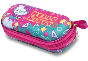 Hello Kitty Kids Estojo Infantil Escolar Menina Maxtoy + Nfe