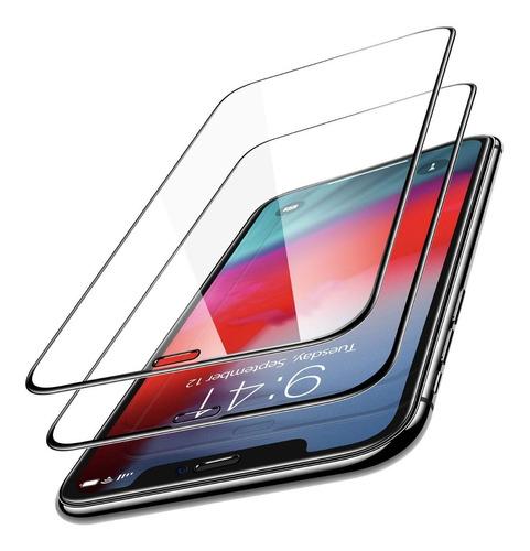 iPhone 11 Pro Max Pack 2 Láminas Vidrio 3d Full Bordes