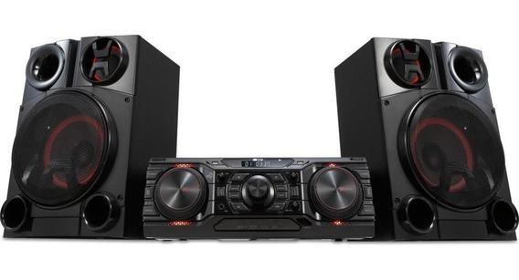Mini System X Boom Lg 1800w Move Play - Cm8350