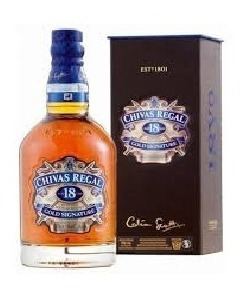 Whisky Chivas Regal 18 Years Blended Scotch Whisky