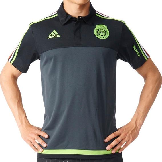 Playera Polo adidas Selección Mexicana Original (aa5531)