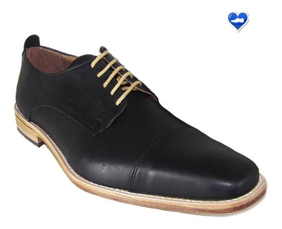 Zapato De Vestir Cuero De Hombre Mod Modena De Shoes Bayres