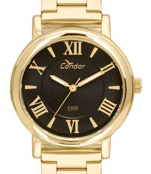 Relógio Condor Feminino Coal2036ch/k4p Dourado C/ Nfe