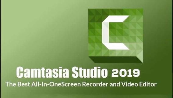 Camtasia Studio 19 Pro 64bts +vídeo Editor+passo+edit