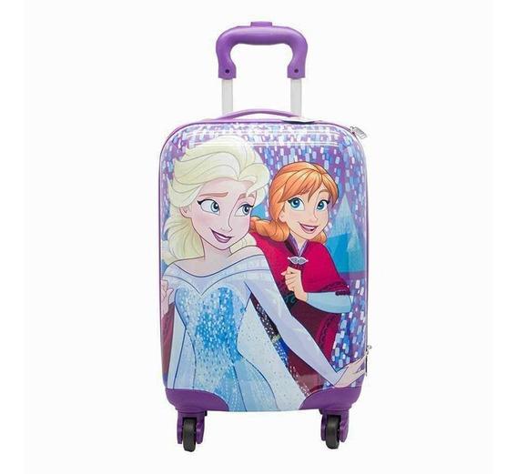 Valija De Mano Cabina Chica Rigida Frozen 17 Pulg Cresko