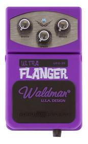 Pedal De Efeito Waldman Ultra Flanger Ufg-3r P/ Guitarra Nfe