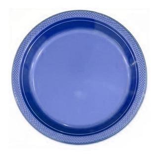 10 Platos Plasticos Biodegradables Cumpleaños