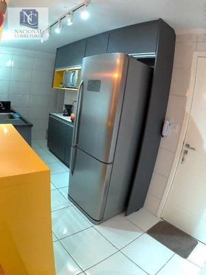Cobertura Com 2 Dormitórios À Venda, 100 M² Por R$ 330.000 - Jardim Santo André - Santo André/sp - Co3876