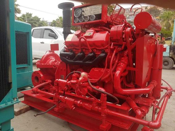 Sistema Contra Incendios 750 Gpm 210 Psi Diesel Nacional