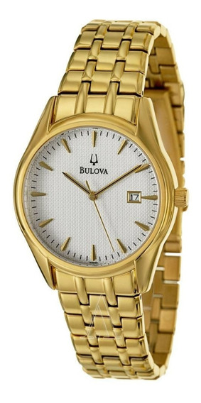 Relógio Bulova Unisex Dourado Médio Wb21445h / 97b109