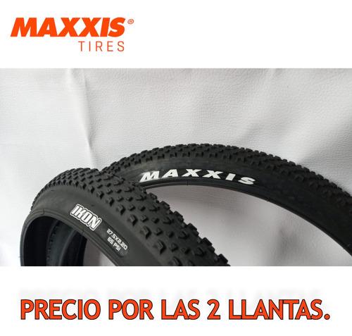 Imagen 1 de 10 de 2 Llantas Maxxis Ikon 27.5*2.20. Bicicleta Mtb