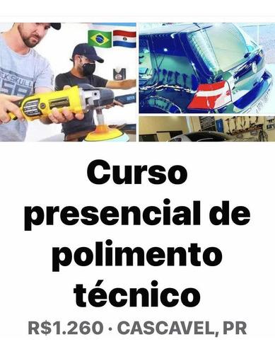 Curso Presencial De Polimento Técnico