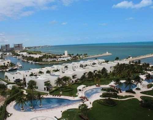 Puerto Cancún, Novo Cancún, Excelente Departamento De Lujo Amueblado En Renta Frente Al Mar, 4 Recámaras, Quintana Roo