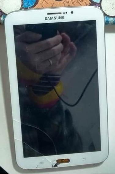 Tablet Samsung Tab3 Sm-t211m Função Celular - Não Liga