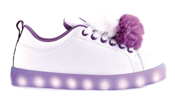Zapatillas Pompon Con Led Recargable - Footy Oficial