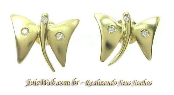 Joianete B9020-30063 Vivara Brinco Borboleta Ouro Brilhantes