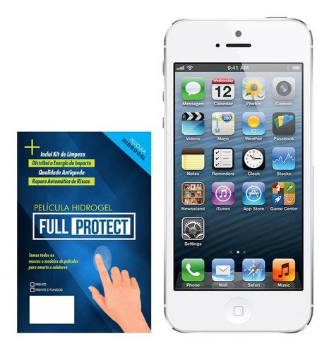 Imagem 1 de 6 de Película Gel Hidrogel Anti Impacto Apple iPhone SE 2020