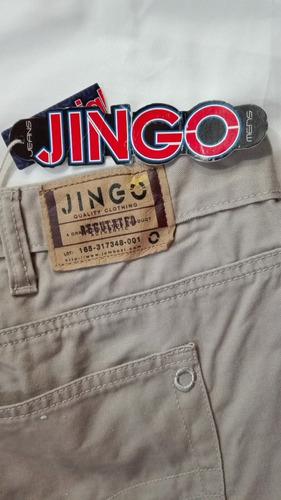 Pantalones Jeans Talla 52 X 30 Marca Jingo Color Kaki Mercado Libre