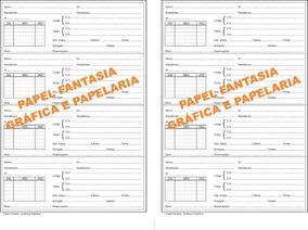 Livros Registro Receitas Óticas 200 Folhas (papelfantasia)