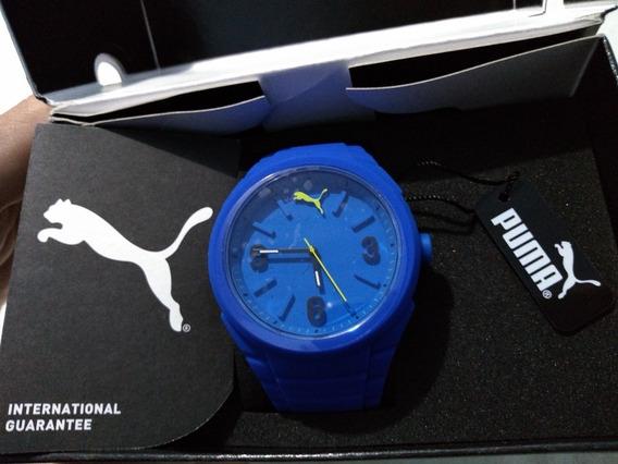 Relógio Puma Original Gummy Pop Color Azul