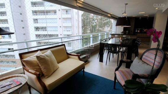 Lindo E Decorado Apartamento No Grand Clube Vila Ema - 181 M² Andar Alto - Ap2004