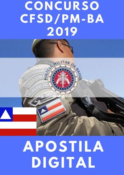 Apostila Digital Soldado Pm-ba 2019