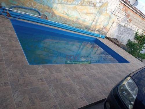 Imagem 1 de 5 de Casa Com 1 Dormitório À Venda, 70 M² Por R$ 225.000,00 - Jardim Marlene Miranda - Taubaté/sp - Ca5271