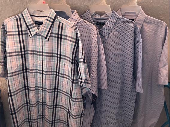 5 Camisas De Manga Corta Talla 50 Por 950