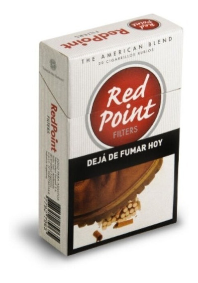 Cigarrillos Red Point Box 20 Pack X2 Cartones
