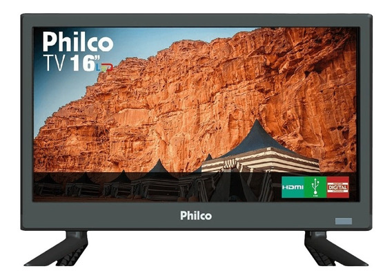 Tv Led 16 Polegadas Philco Hd Ptv16s86d Pix90