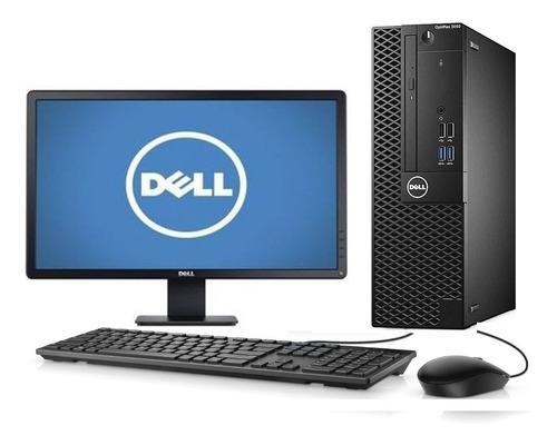 Imagem 1 de 10 de Cpu + Monitor Dell Optiplex 3050 Core I3 7ger 4gb 500gb