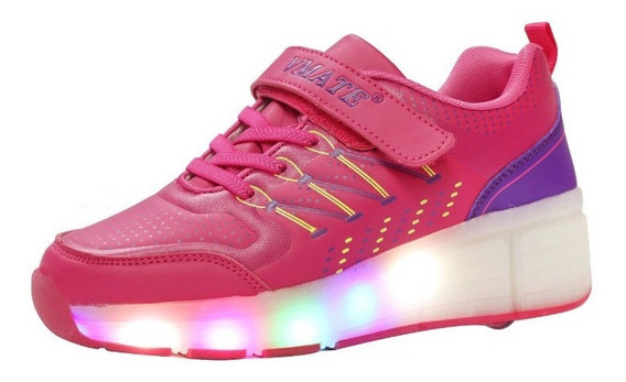 Tenis Led Ruedas