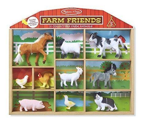 Melissa Y Doug Farm Friends Juegos Clasicos