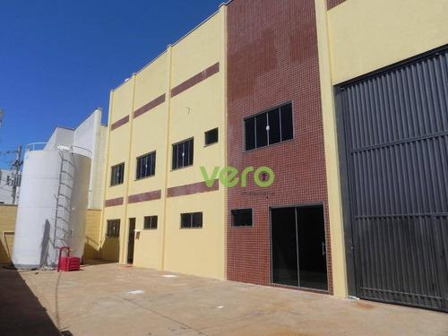 Imagem 1 de 26 de Galpão À Venda, 1091 M² Por R$ 1.600.000,00 - Jardim Cedros - Santa Bárbara D'oeste/sp - Ga0032