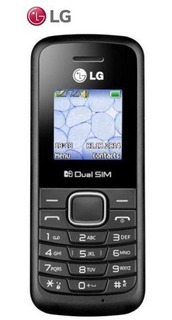 Lg B220 - Dual Sim - Radio - Linterna - Negro - Libre