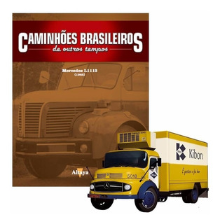 Caminhões Brasileiros - Ed.1 - Mercedes-benz L1113 Kibon