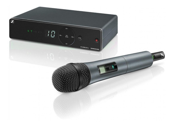 Microfone Sem Fio Wireless 10 Canais Xsw1-825-a Sennheiser