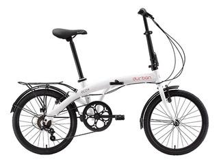 Bicicleta Dobrável Durban Eco+ Aro 20 6 Marchas Shimano