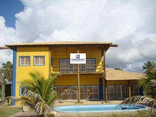 Imagem 1 de 14 de Casa Com 3 Dorms, Porto Sauípe, Entre Rios - R$ 600 Mil, Cod: 60300 - V60300