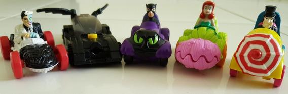 Lote Batman Mc Donalds Antigos Carros- Miniaturas 1 Lego