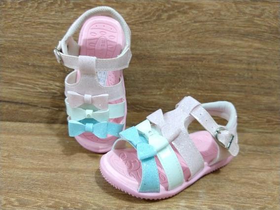 Sandalia Infantil Feminina Menina Rosa Festa Sem Led Barato