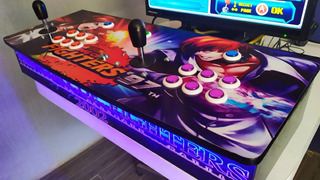 Oferta Tablero Arcade Pandora 9h 2200 Juegos Led