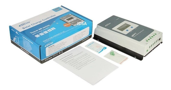 Controlador De Carga Solar Mppt Tracer 30a 3210 ( Off Grid )