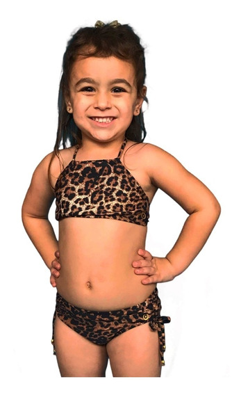 Biquini Infantil Cropped Grappin Lateral Larga Promoção