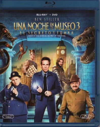 Una Noche En El Museo 3 El Secreto De La Tumba Blu-ray