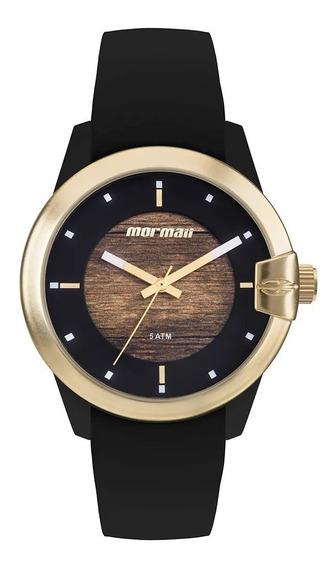 Relógio Mormaii Mo2035jl/8m Mo2035jl 8m Preto Madeira