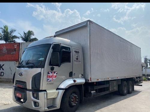 Ford Cargo 2429 Com Ar Condicionado Bau De 16 Pallets