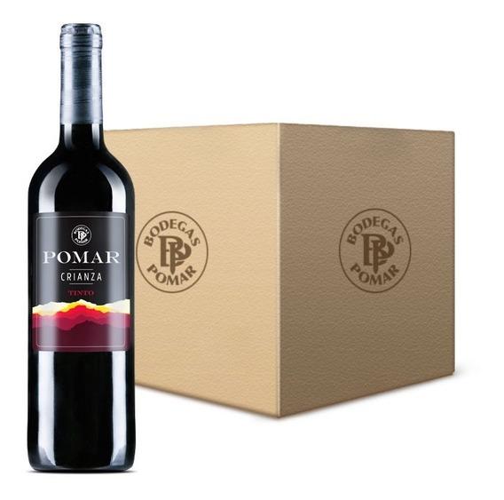 Vino Tinto Pomar Crianza (6 Botellas ) 0,75 L
