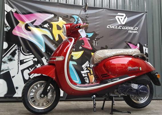 Scooter Gilera Piccola 150 0km 2020 Negro Tempo Al 25/5