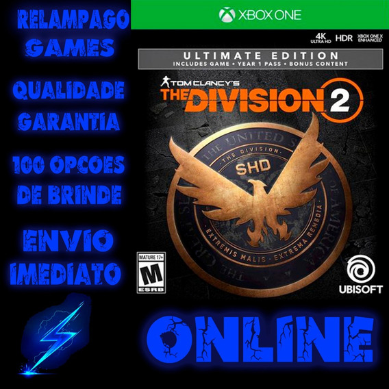 Tom Clancys The Division 2 Ultimate Edition Xbox One Digital